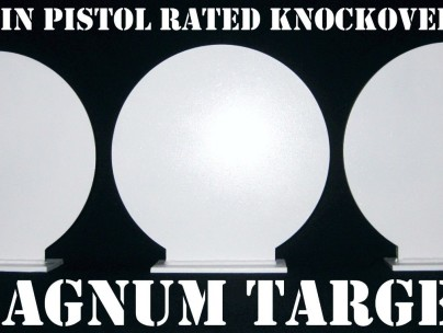 New 12 Inch Round Knockovers -Action Pistol Plates 3pcs